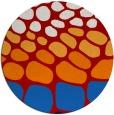 rug #715961 | round red circles rug