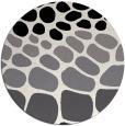 rug #715993   round black circles rug