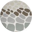 rug #716005 | round beige circles rug