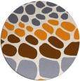 rug #716072 | round retro rug