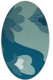 rug #718587 | oval natural rug