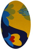 rug #718706 | oval natural rug