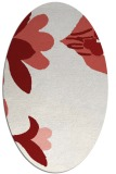 rug #718788 | oval graphic rug
