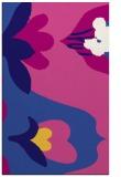 rug #718993 |  blue-violet rug