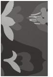 rug #719089 |  orange graphic rug