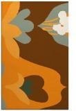 rug #719233 |  light-orange graphic rug