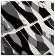 rug #725229   square black graphic rug