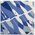 rug #725265 | square blue abstract rug