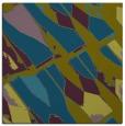 rug #725285 | square blue-green rug