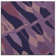 rug #725321 | square purple abstract rug