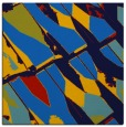 rug #725393 | square blue abstract rug