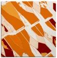 rug #725417 | square orange graphic rug