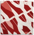 rug #725473 | square red graphic rug