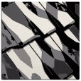 rug #725497 | square white abstract rug