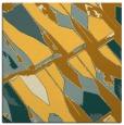 rug #725529 | square light-orange abstract rug
