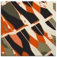 rug #725533 | square black graphic rug