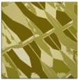 rug #725545 | square light-green graphic rug