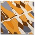 rug #725573 | square light-orange rug