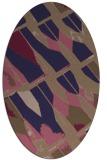 rug #725685   oval abstract rug