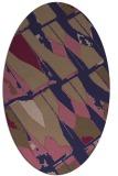 rug #725686   oval abstract rug