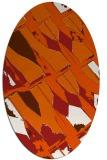 rug #725848   oval abstract rug