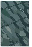 rug #726001 |  blue-green abstract rug