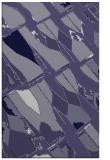 rug #726017 |  blue-violet abstract rug