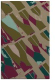 rug #726049 |  brown graphic rug