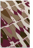 rug #726081 |  mid-brown graphic rug