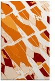 rug #726121 |  orange abstract rug