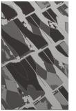 rug #726129 |  orange graphic rug