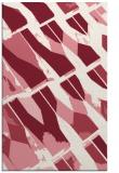 rug #726141    pink abstract rug