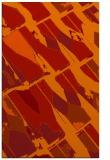 rug #726173    orange abstract rug