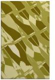 rug #726249 |  light-green graphic rug