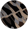 rug #726293   round beige abstract rug