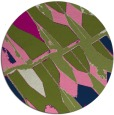 rug #726319 | round abstract rug
