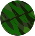 rug #726349 | round green abstract rug