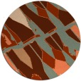 rug #726484 | round abstract rug
