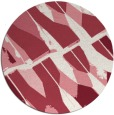 rug #726495 | round abstract rug