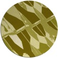 rug #726601 | round light-green abstract rug