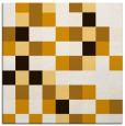 rug #727281 | square brown graphic rug