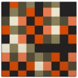 rug #727293 | square black graphic rug