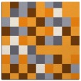 rug #727333 | square light-orange retro rug