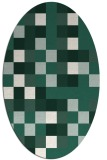 rug #727469 | oval graphic rug