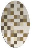 rug #727632 | oval geometry rug