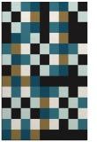 rug #727709 |  brown retro rug