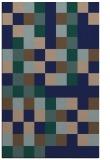 rug #727721 |  blue graphic rug