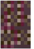 rug #727913 |  purple graphic rug