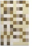 rug #727981 |  yellow geometry rug