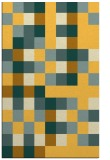 rug #727993 |  light-orange graphic rug